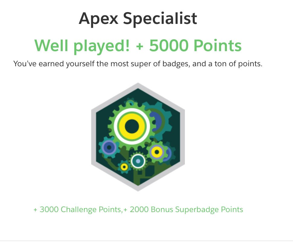 Apex Specialist Trailhead Badge