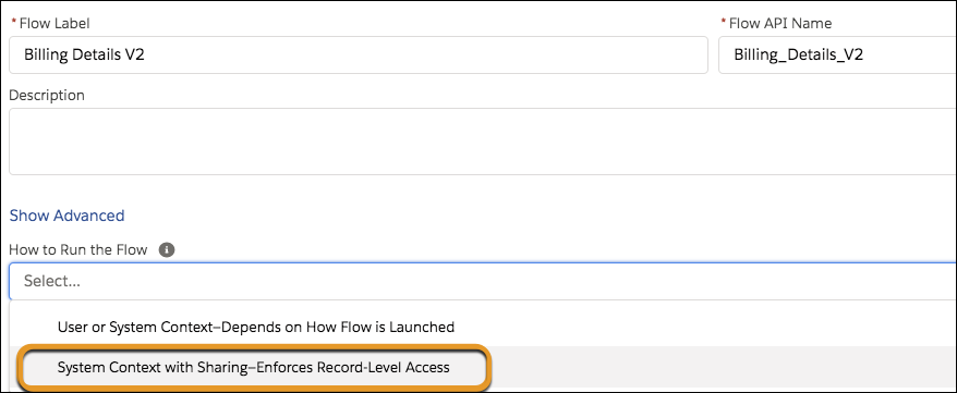 Run Flows Without Worrying About User Permissions with System Mode