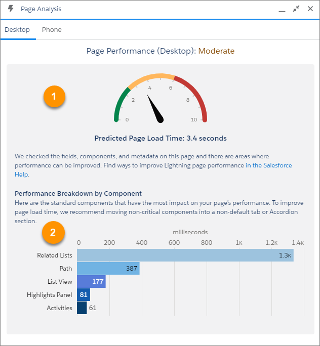 Lightning Page Performance