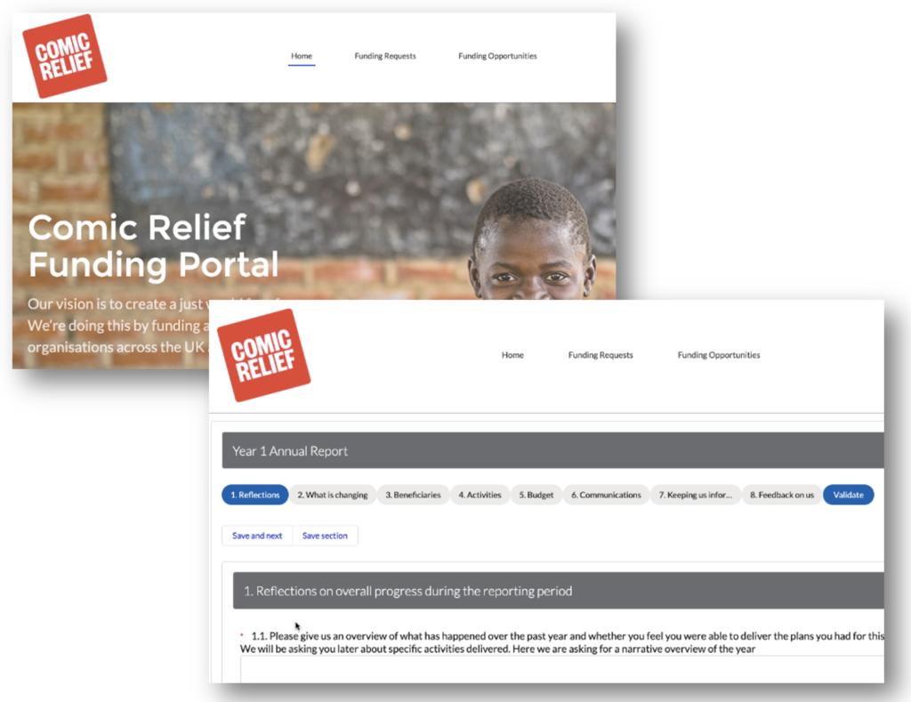 Comic Relief Salesforce Community